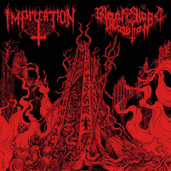 IMPRECATION - Diabolical Flames Of The Ascended Plague