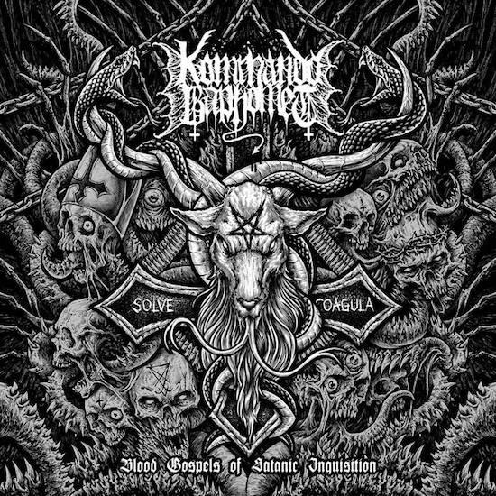 KOMMANDO BAPHOMET - Blood Gospel Of Satanic Inquisition