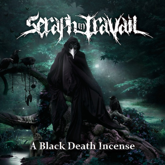 SERAPH IN TRAVAIL - A Black Death Incense