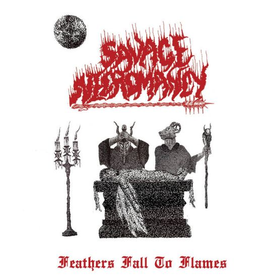 SAVAGE NECROMANCY - Feathers Fall To Flames