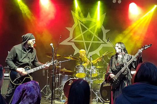 Crest Of Darkness - with Ingar (vocals, bass, guitars)