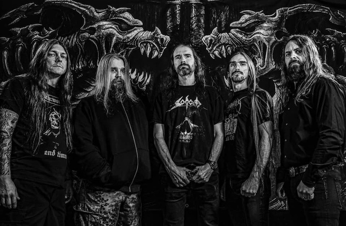 Dismember with Fred Estby (drums)