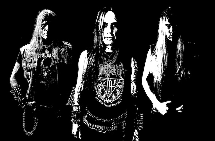 In Aphelion with Sebastian Ramstedt (vocals, guitars, bass)