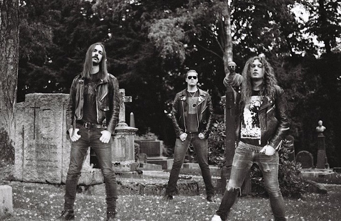"""Nekromantheon - with Sindre Solem (bass, vocals) and Christian """"Kick"""" Holm (drums)"""