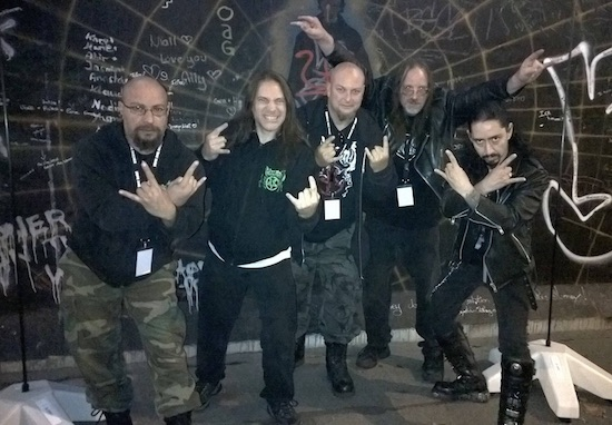 Nocturnus AD - with Mike Browning (drums, vocals)