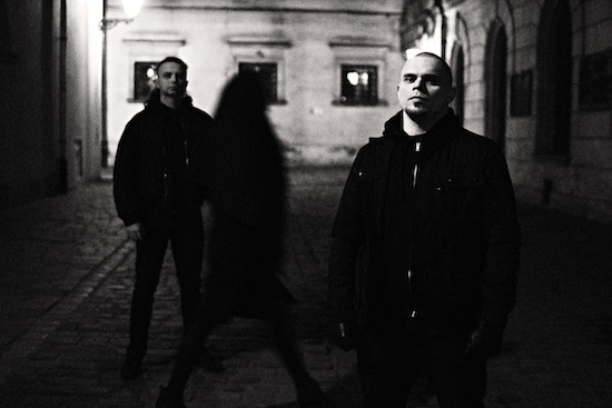 Odraza - with Stawrogin (guitars, bass, vocals) and Priest (drums, guitars)