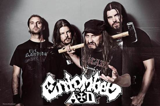 Entombed A.D. - with Nico Elgstrand (guitars)