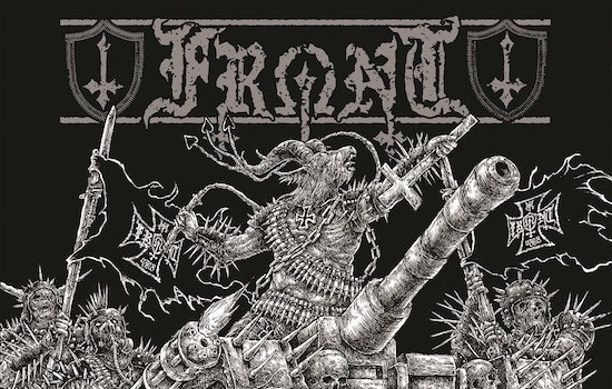MB Premiere and Interview: FRONT - 'Antichrist Militia' full album stream