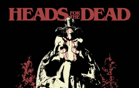 MB Premiere and Review: HEADS FOR THE DEAD - 'Into The Red' full album stream
