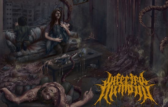 MB Premiere: INFECTED HUMANS - 'Calcining Human Flesh'