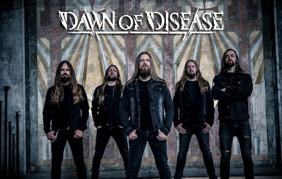 DAWN OF DISEASE present official video 'Procession of Ghosts'