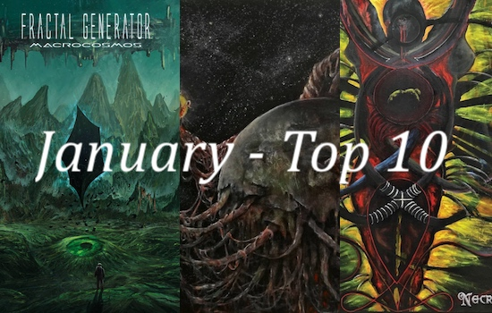 Nate's Top 10 Albums of the Month - January 2021