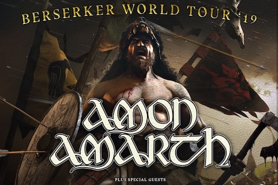 Berserker World Tour 2019 with AMON AMARTH, ARCH ENEMY, AT THE GATES and GRAND MAGUS