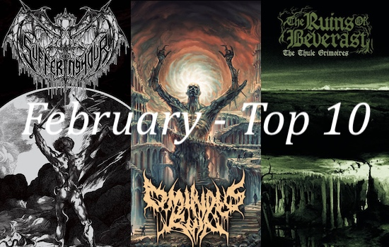 Nate's Top 10 Albums of the Month - February 2021