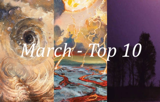 Nate's Top 10 Albums of the Month - March 2021