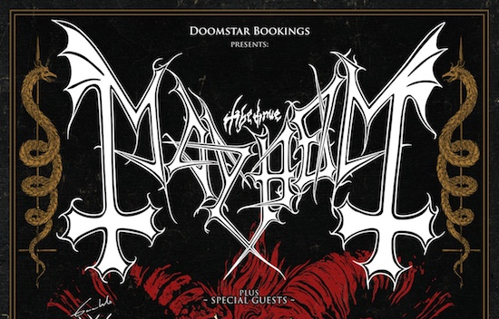 MAYHEM embark on European tour with GAAHLS WYRD and GOST