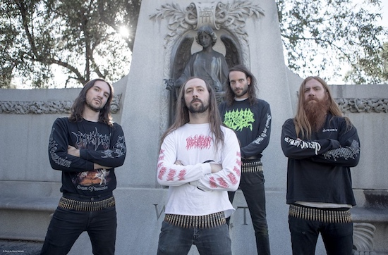 BLOOD INCANTATION present video for