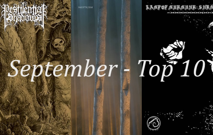 MetalBite's Top 10 Albums of the Month - September 2021