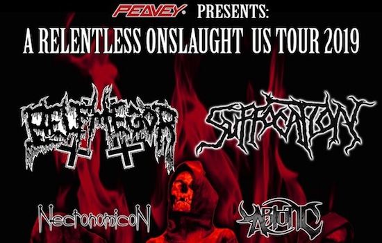 "BELPHEGOR and SUFFOCATION will co-headline ""A Relentless Onslaught US Tour"""