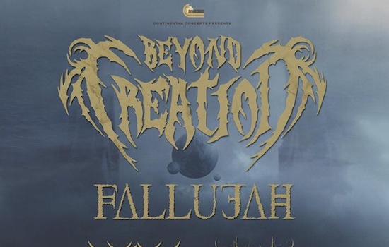 BEYOND CREATION Announces Algorythm North America Tour With FALLUJAH, ARKAIK & EQUIPOISE