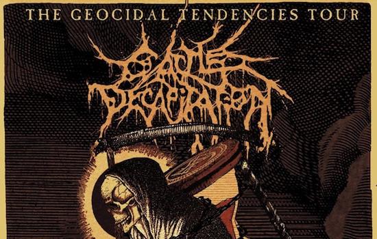 CATTLE DECAPITATION announce North American 'The Geocidal Tendencies Tour'