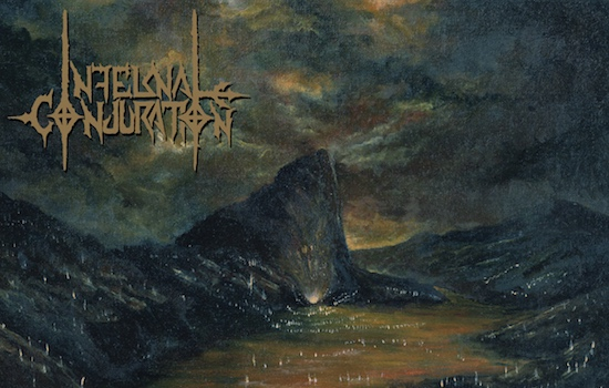 Get INFERNAL CONJURATION vinyl copy of 'Infernale Metallum Mortis'