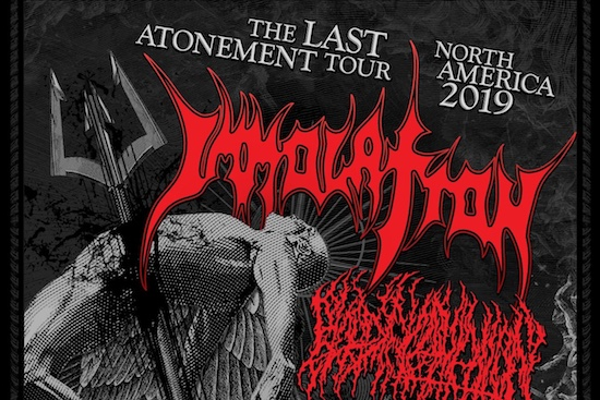 The Last Atonement Tour - North America 2019 with IMMOLATION and BLOOD INCANTATION
