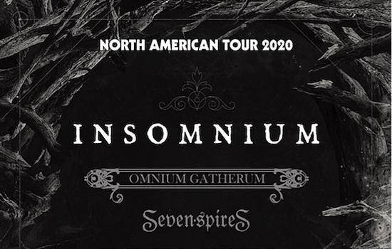 INSOMNIUM announce 2020 North American Tour with OMNIUM GATHERUM and SEVEN SPIRES