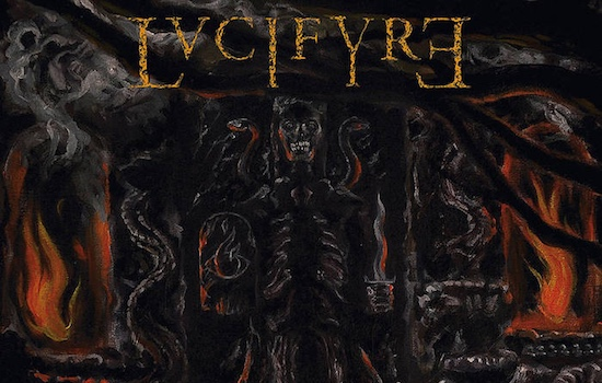 Win LVCIFYRE 'Sacrament' vinyl records