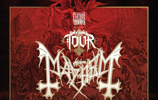 MAYHEM embark on US/Canada tour with ABBATH, GATECREEPER and IDLE HANDS