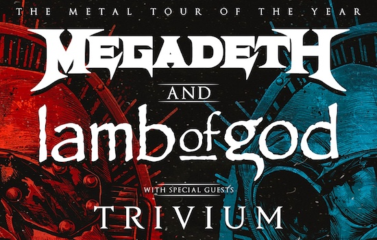 MEGADETH and LAMB OF GOD announce Co-Headline Tour Across North America 2020