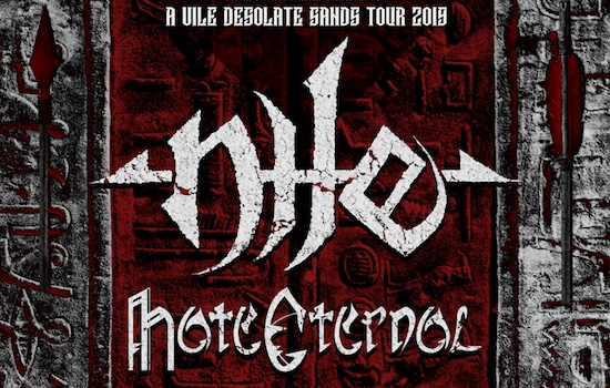 NILE announce European tour with HATE ETERNAL, VITRIOL and OMOPHAGIA