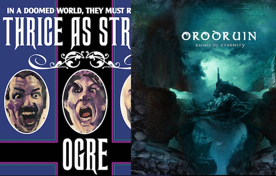 Win ORODRUIN and OGRE latest CDs