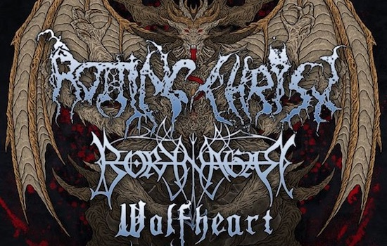 ROTTING CHRIST announce North American 'Devastation On The Nation Tour'