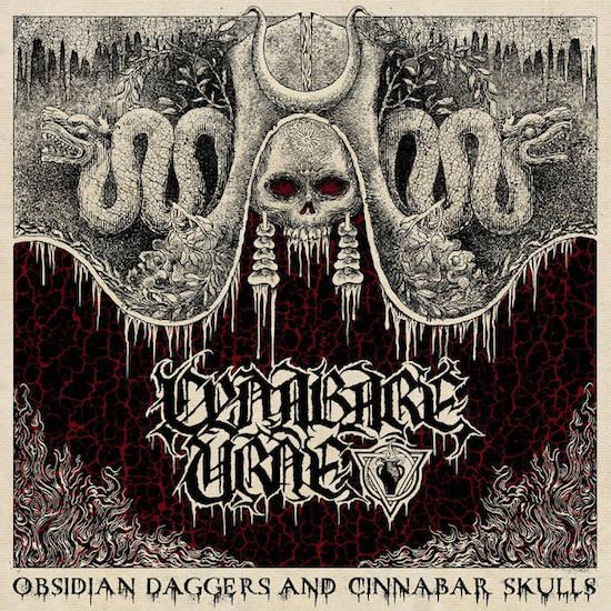Obsidian Daggers And Cinnabar Skulls