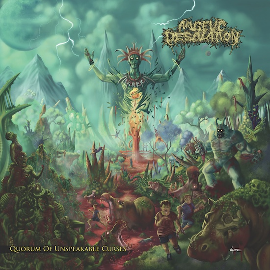 Angelic Desolation - Quorum Of Unspeakable Curses
