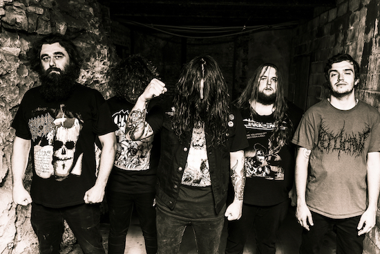 OUTER HEAVEN Share 'Putrid Dwelling' Music Video