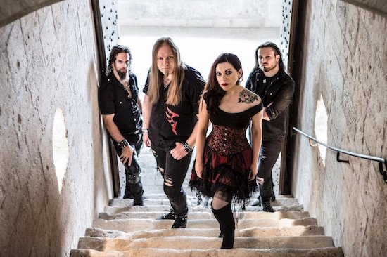 SIRENIA Reveals Official Video for 'Into The Night'