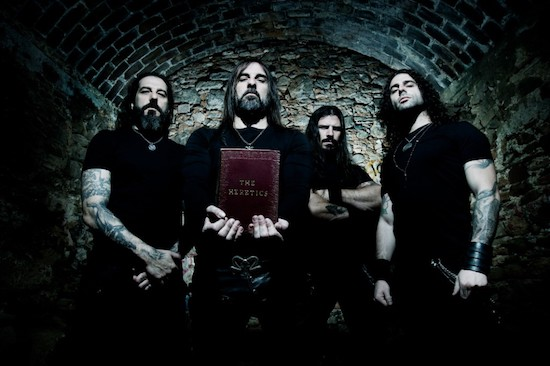 ROTTING CHRIST Stream Lyric 'Video Fire, God And Fear'