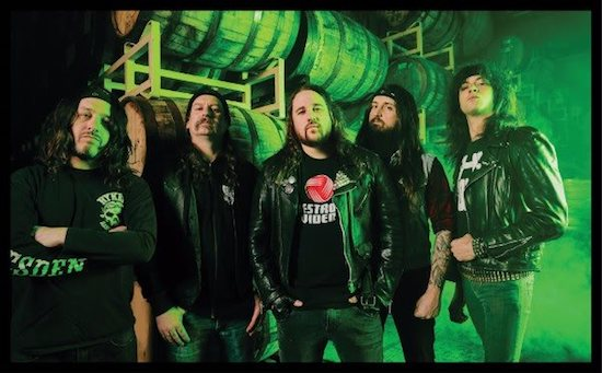 MUNICIPAL WASTE Share New Music Video for 'Slime And Punishment'
