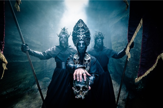 BEHEMOTH Unveiled New Video 'Ecclesia Diabolica Catholica'