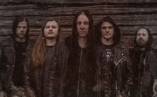 October Tide launched lyric video for 'Our Famine'