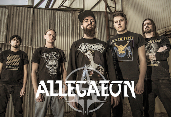 ALLEGAEON Launches Video for 'Stellar Tidal Disruption'