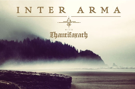 Inter Arma with Thantifaxath - Tour 2019