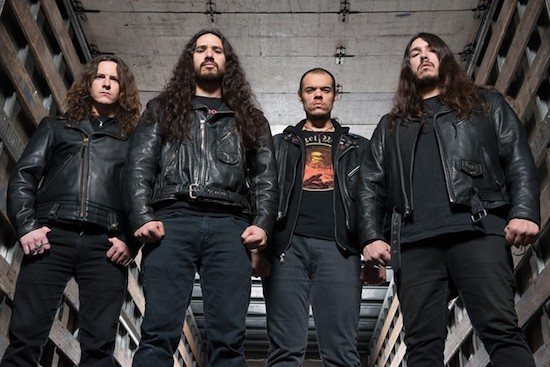 EXMORTUS Premiere Video for 'Feast Of Flesh'