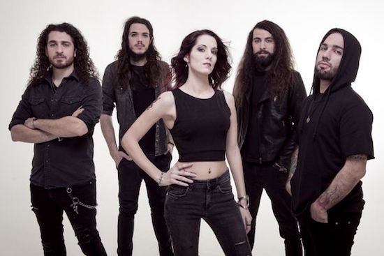TEMPERANCE Debut Video for 'Of Jupiter And Moons'