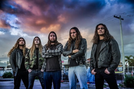 DEPRAVITY Premiere Video for 'Despondency'