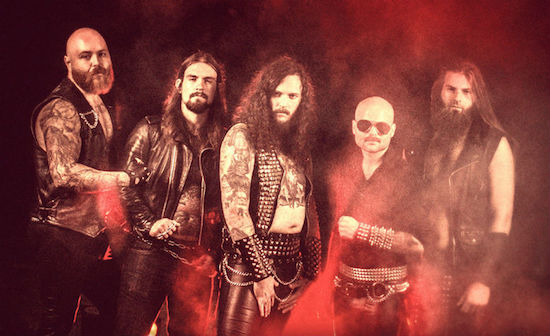 SACRED LEATHER Present Video for 'Power Thrust'