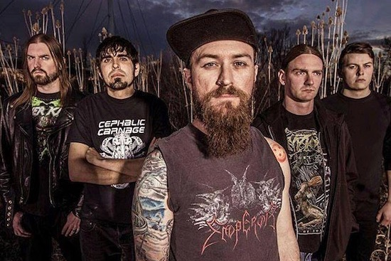 ALLEGAEON Premieres Video for 'Of Mind and Matrix'