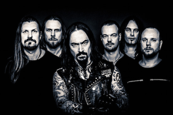 AMORPHIS Released Official Video for 'Death Of A King'